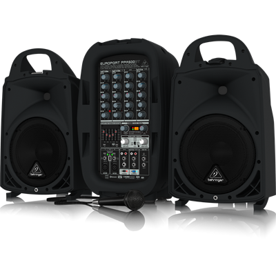 Behringer PPA500BT draagbare PA set